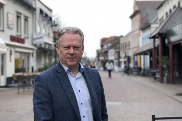 Ron Vierboom, bevlogen centrummanager in Gennep