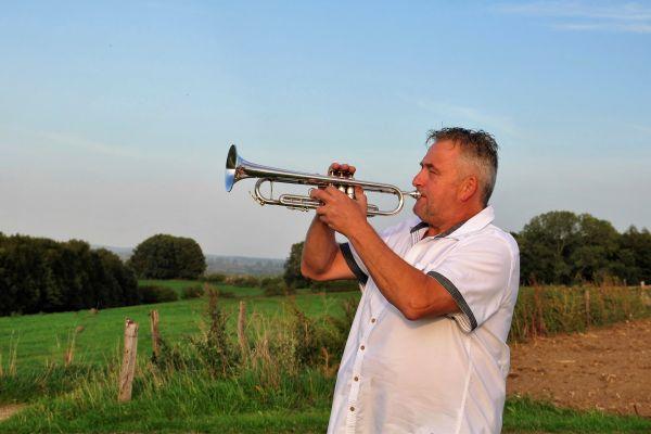 Frank Wijers; een Groesbeekse virtuoos op trompet!
