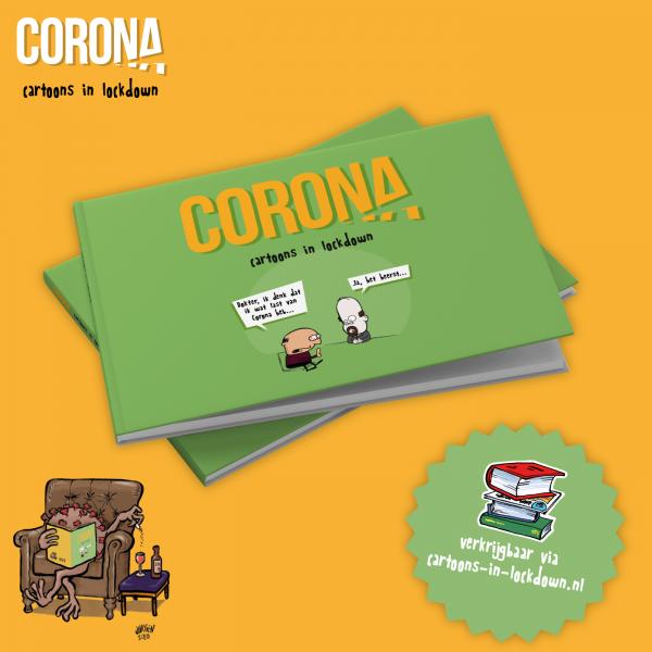 Corona   cartoons in lockdown
