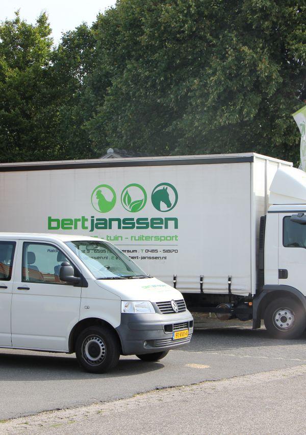 Bert Janssen Diervoeders verruimt de openingstijden