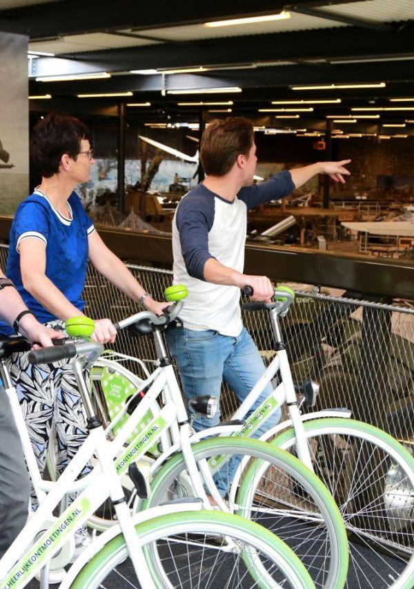 Het Oorlogsmuseum heeft een fietsbrug 6
