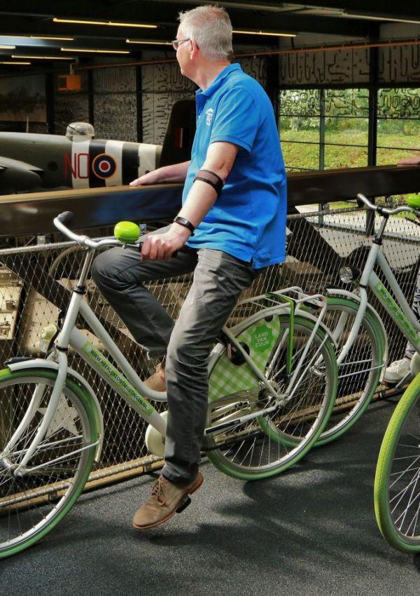 Het Oorlogsmuseum heeft een fietsbrug 3