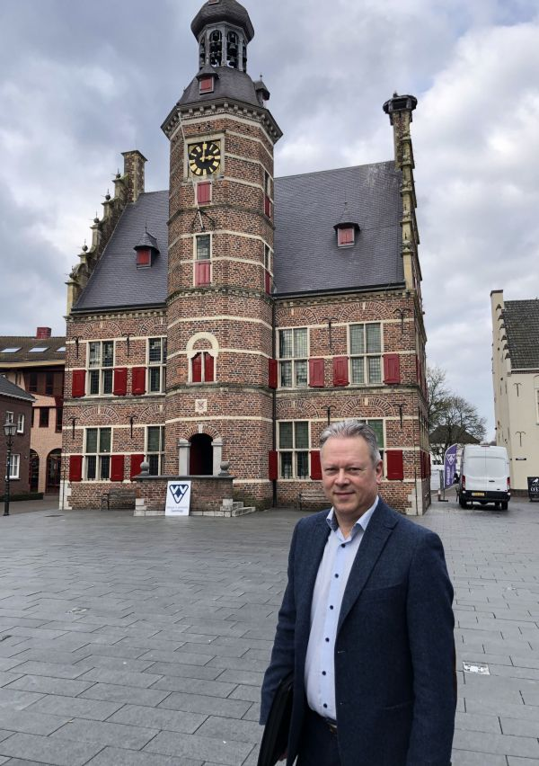 Ron Vierboom, bevlogen centrummanager in Gennep 1