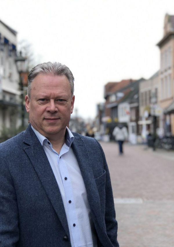 Ron Vierboom, bevlogen centrummanager in Gennep