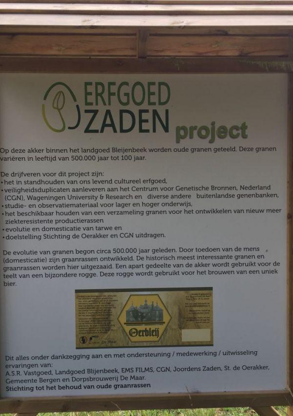 Een Erfgoedzadenproject op het landgoed Bleijenbeek 3