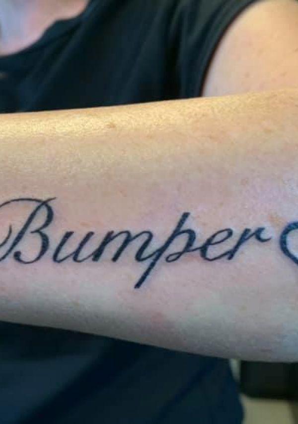 Een tattoo is voor je leven 1
