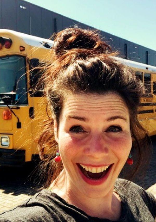 Mirjam zoekt plek voor haar Amerikaanse schoolbus